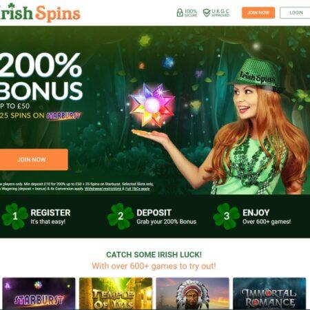 Irish Spins Casino Review