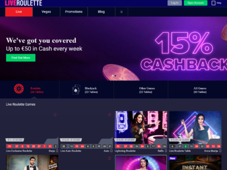Live Roulette Casino Review