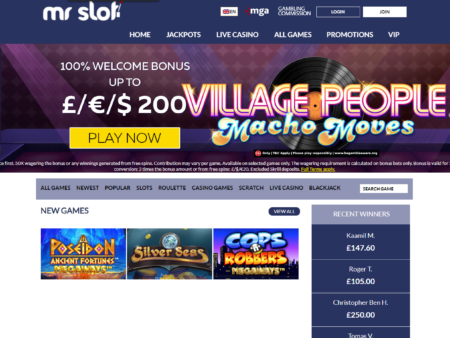 Mr Slot Casino Review