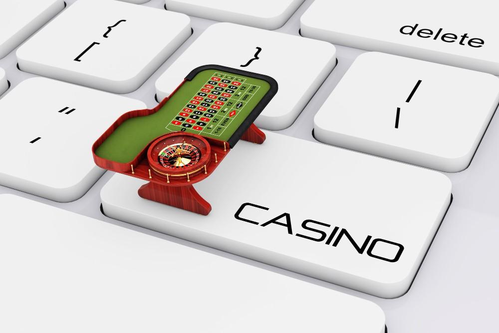 Casino button instead of keywords enter button.