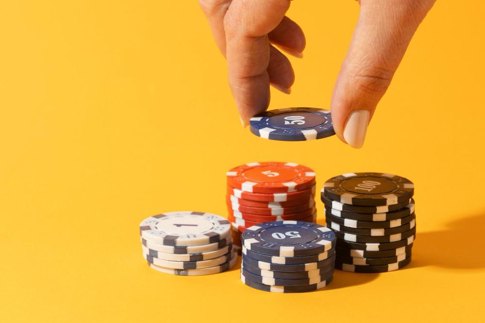 Casino coins.