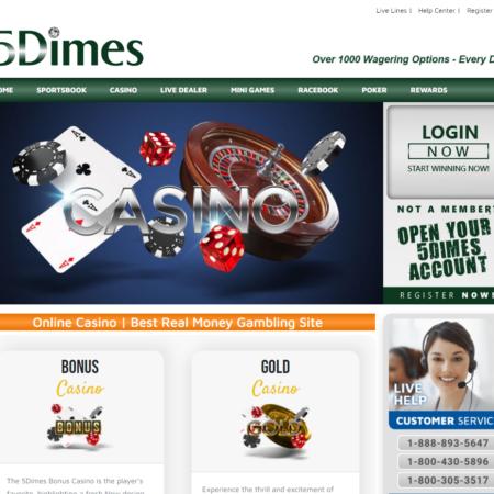 5Dimes Casino Review