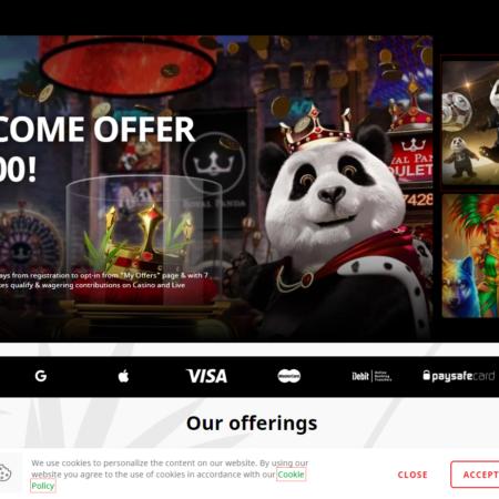 Royal Panda Casino Review